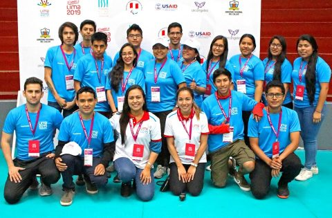 """LIMA 2019 VOLUNTEERS: """"THE HEART OF THE GAMES BEGINS TO BEAT"""""""