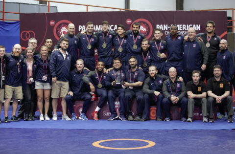 TEAM USA DOMINATES PAN AMERICAN WRESTLING CHAMPIONSHIP