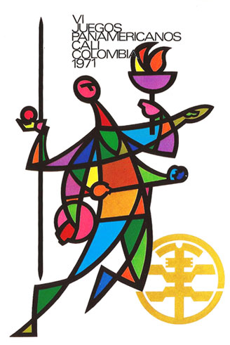 Logo Pan American Games Colombia 1971