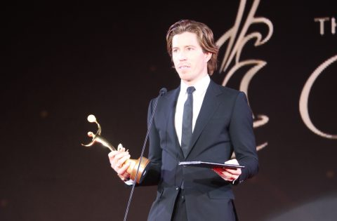 SHAUN WHITE WINS BEST MALE ATHLETE AT 2018 ANOC AWARDS (VIDEO)