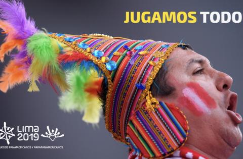 "LIMA 2019 : ""JUGAMOS TODOS"""