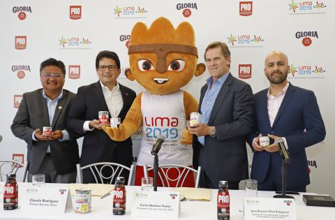 GLORIA, OFFICIAL SPONSOR OF THE LIMA 2019 GAMES