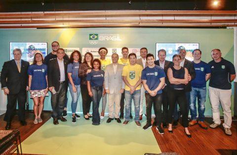BRASIL CELEBRA LOS 100 DÍAS A LIMA 2019 CON PRESIDENTE ILIC Y MEDALLISTAS PANAMERICANOS