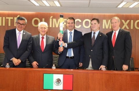 LIMA 2019 PRESS CONFERENCE AT MEXICO CITY (PHOTO GALLERY)