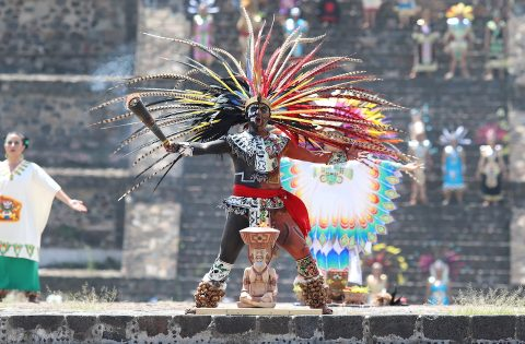 FROM THE AZTEC TO THE INCA – THE PAN AMERICAN FLAME BEGINS HISTORIC JOURNEY TO PERU