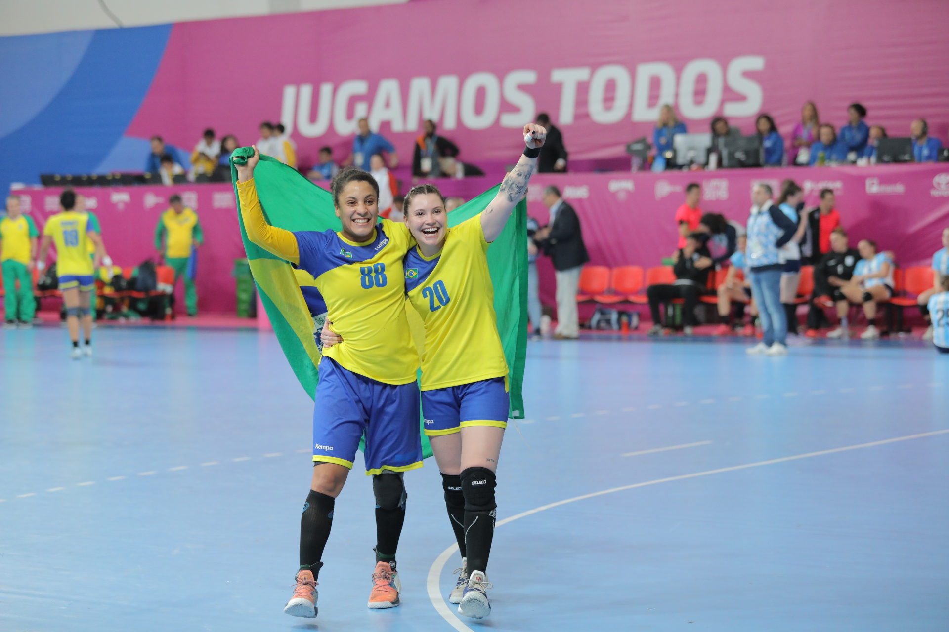 Panam Sports Brazil Secures Gold Medal And Tokyo 2020