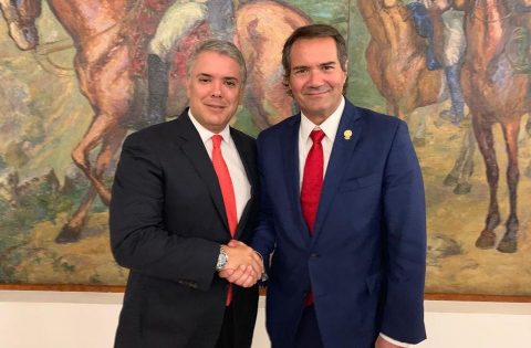 COLOMBIAN PRESIDENT CONFIRMS SUPPORT FOR BARRANQUILLA 2027 BID