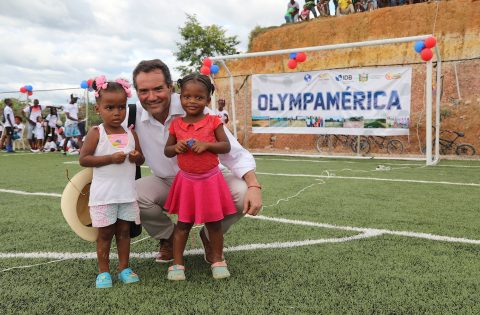 PANAM SPORTS FULFILLS DREAMS OF AT-RISK COLOMBIAN CHILDREN