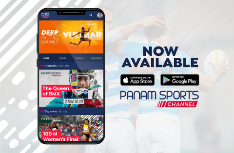 PANAM SPORTS CHANNEL EVOLVES TO CREATE A NEW DIGITAL HOME FOR AMERICAS' ATHLETES