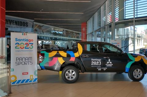 MITSUBISHI TO DRIVE SANTIAGO 2023 FORWARD AS OFFICIAL VEHICLE OF THE PAN AMERICAN GAMES